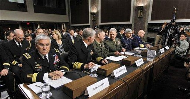 Top generals buck White House on military gay ban