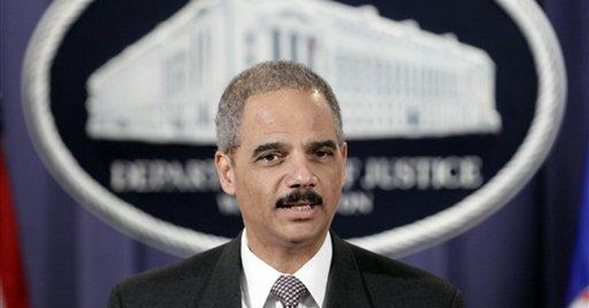 Security Risk: Eric Holder's Latest Folly