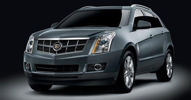 Fact sheet: 2012 Cadillac SRX
