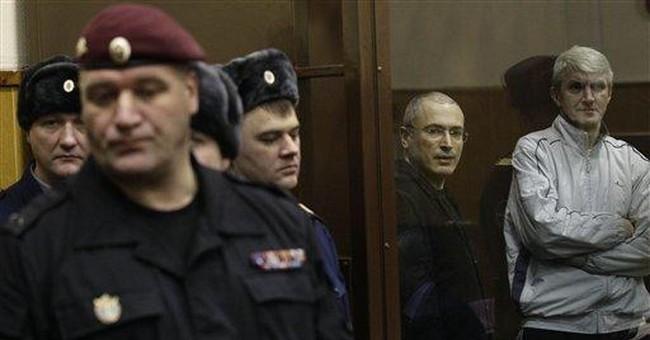 Russia rejects criticism of Khodorkovsky's trial