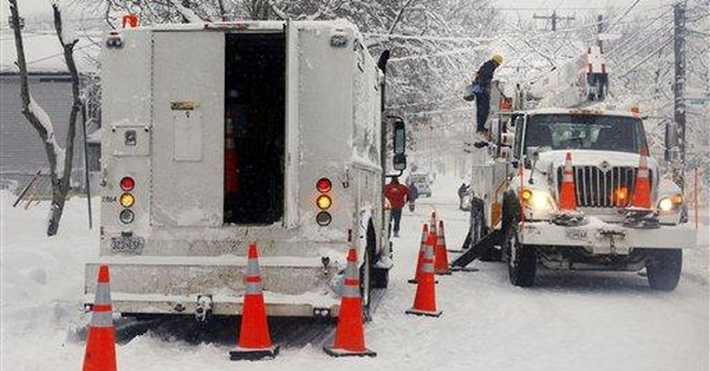 DC utility predicts widespread outages for days