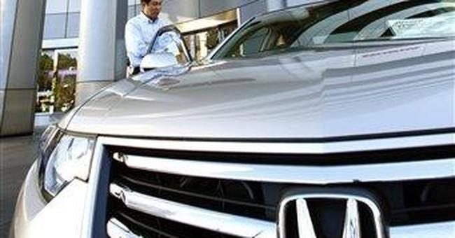 Honda recalling 550,000 SUVs for headlight problem
