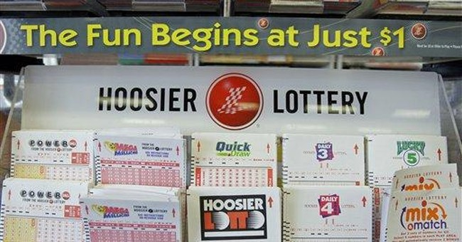 Income Equality: Why Doesn't the Left Hate the Lottery?