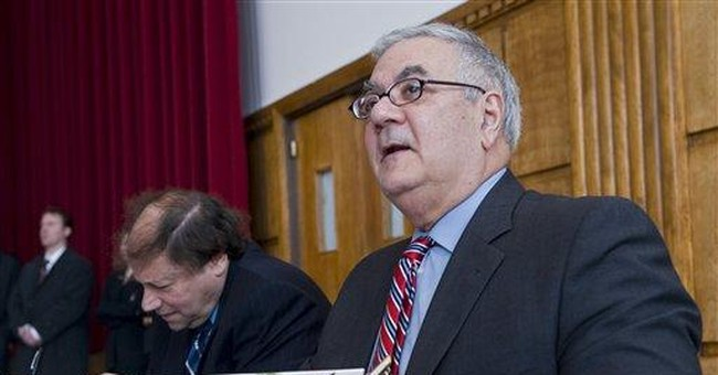 A GOP Unknown in Striking Distance of Barney Frank
