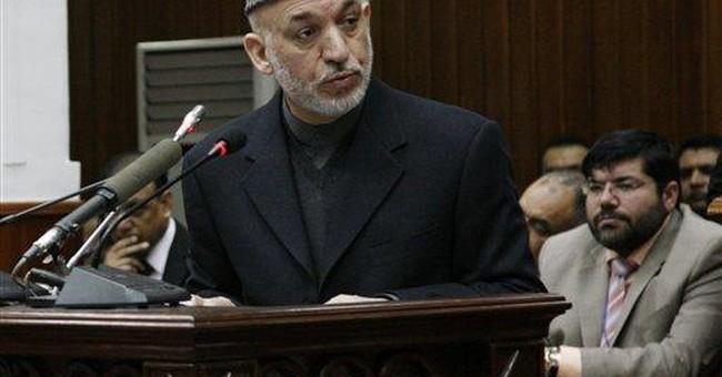 Hamid Karzai, D-Chicago
