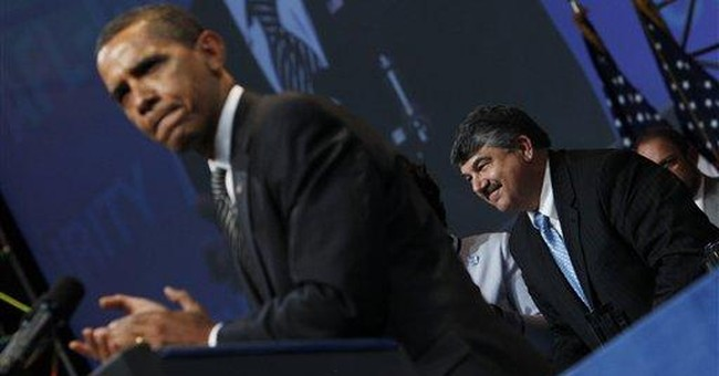 As Obama Kowtows, Unions Eye the Private Sector