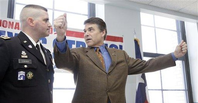 Perry Wins Texas Primary