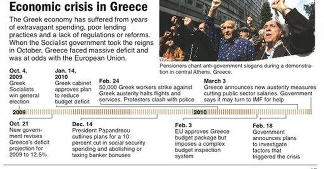 Greek taxis on 24-hour strike