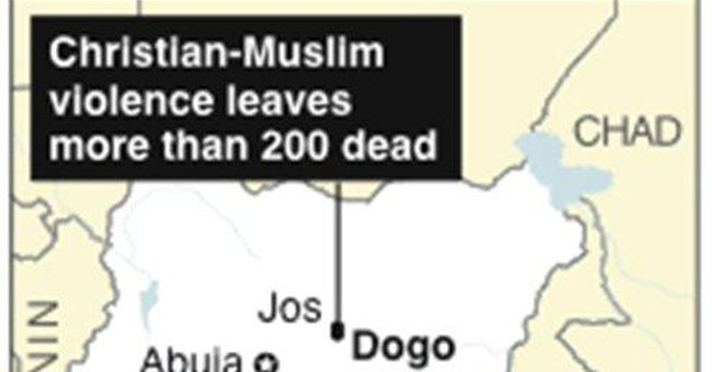 Police: 1 killed in blast in central Nigeria city