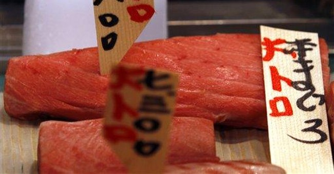 Bluefin tuna escapes endangered species list