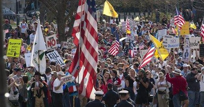 The Left's Tea Party Smear: A symptom of their identity politics
