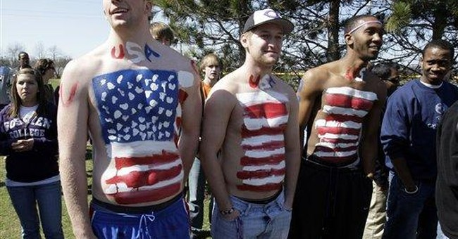 Respect and American Flag Tee-Shirts