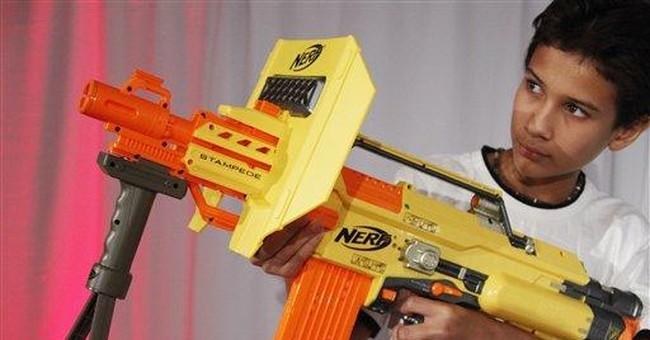 Group Demands Hasbro Stop Making 'Assault-Style' Nerf Guns