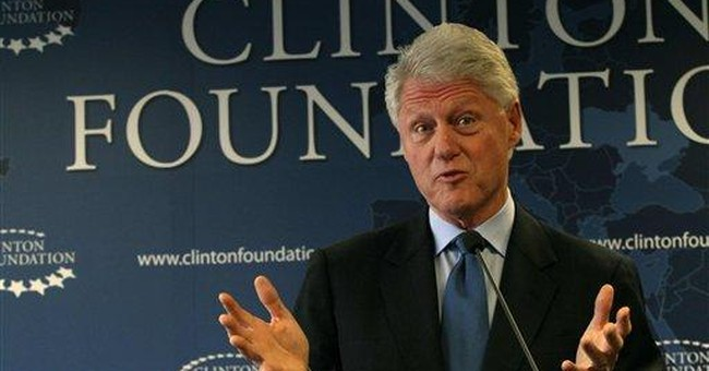 Donations to Clinton Foundation Nosedive