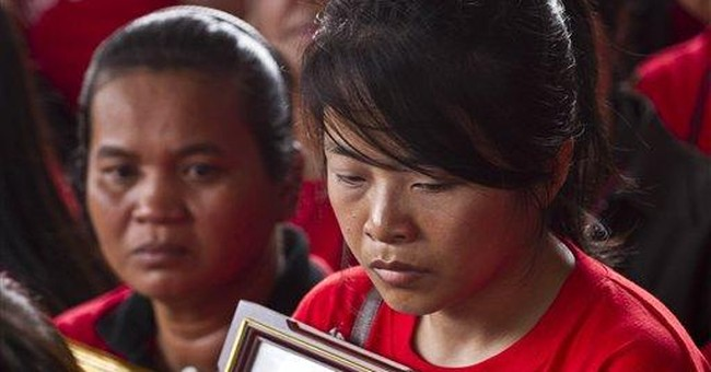 Thai 'Red Shirts' mark anniversary of bloody clash