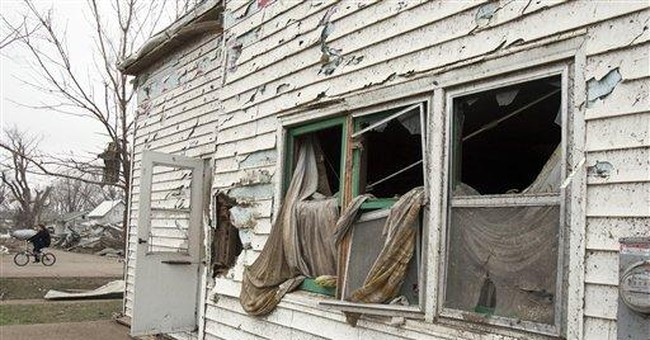 Cleanup of tornado-swept Iowa town to take months