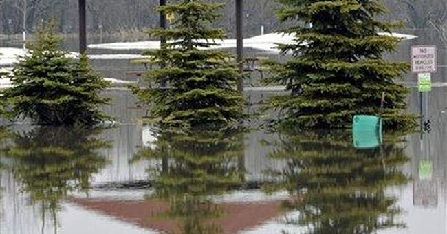 Red River Valley flood fight shifts north of Fargo