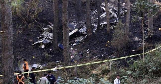 Plane crash kills 2, injures 4 in Philippine city