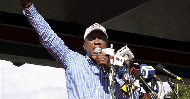 Hero's welcome for Kenya's int'l court suspects