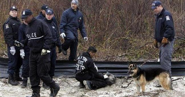 NY police scour beach by chopper in bodies probe