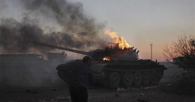 Pentagon estimates Libya costs at $608 million