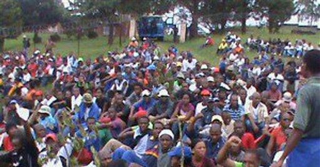 Swaziland protests overwhelmed by violence