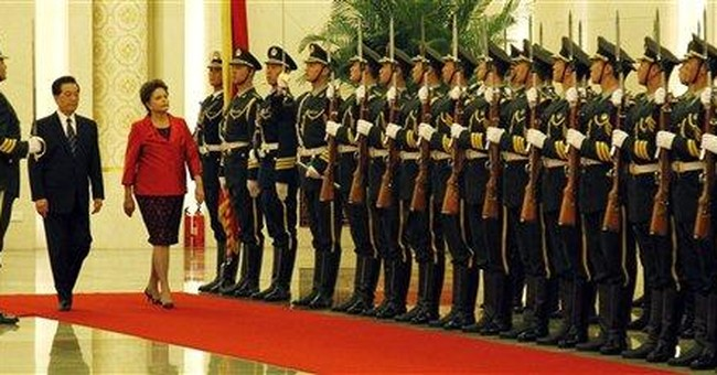 Brazilian president on trade-heavy visit to China