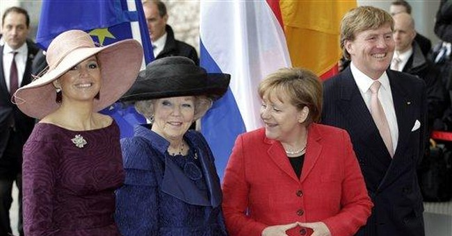 Dutch Queen Beatrix starts state visit to Germany