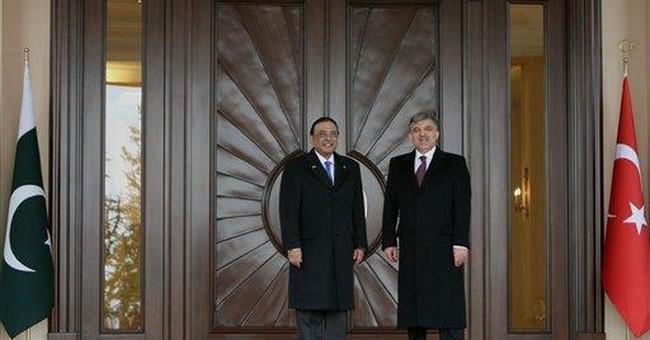 Presidents of Pakistan, Turkey discuss Afghan war
