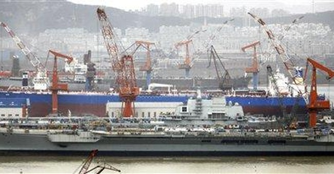 US: China's 1st aircraft carrier watched by region