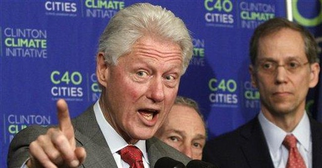 Bloomberg, Clinton to merge environmental efforts