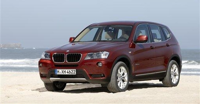 Second generation BMW X3 arrives