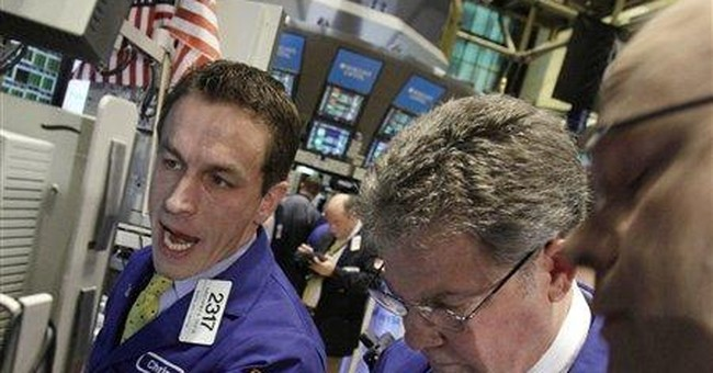 Stocks edge higher on better economic data