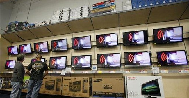 Consumers buy more retail goods in March