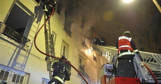 5 dead, 57 injured in Paris fire