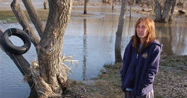 Troubled dam still threatens North Dakota town
