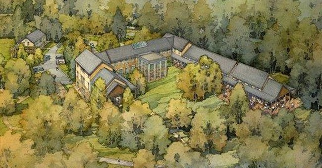 Gates breaks ground for GW presidential library