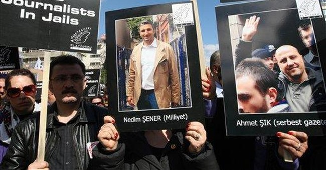 Turkey faces questions about free expression