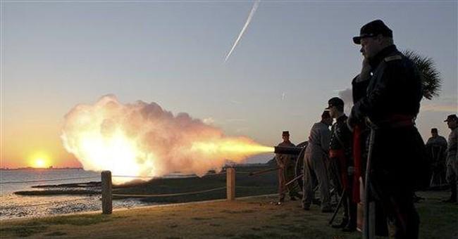 Civil War 150th: Fort Sumter re-enactors wind down
