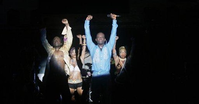 Broadway's 'Fela!' cast performs for Nigerian fans