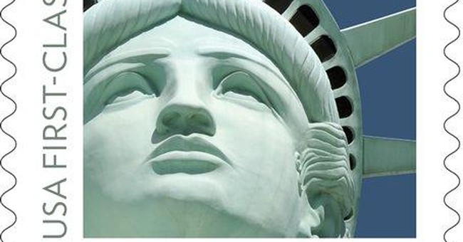 Lady Liberty stamp shows wrong statue