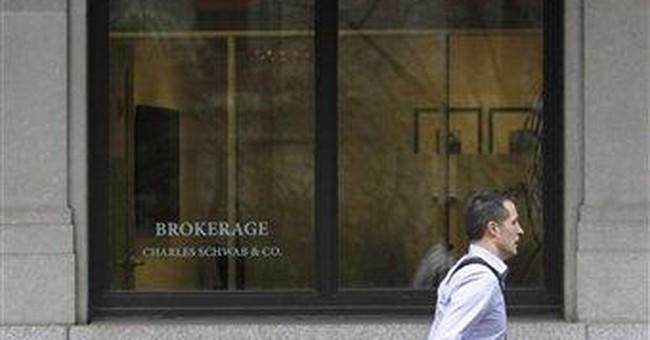 Charles Schwab 1Q profit climbs on better economy