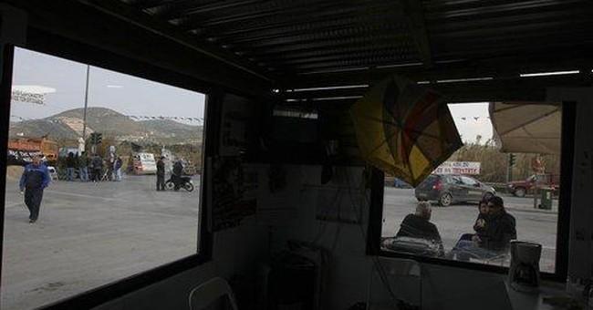 Violence spikes in Greek rebel town