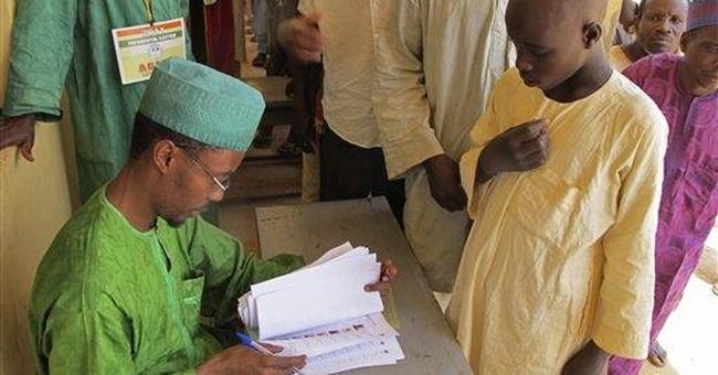 Nigerian leader wins presidential poll amid riots