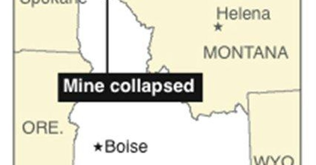 Machine arrives to aid rescuers at N. Idaho mine