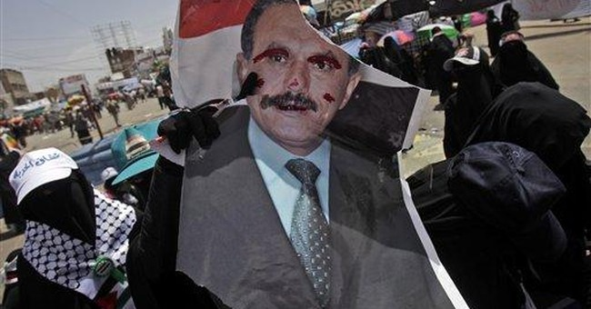Mass protests in Yemen over leader's women remark