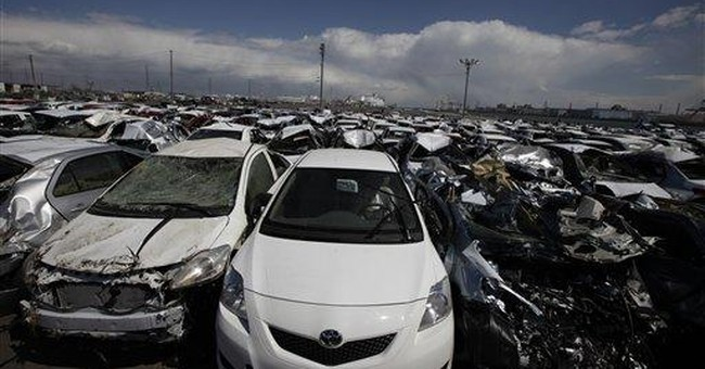 Japan's auto parts makers struggle after disaster