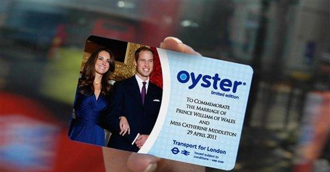 Royal wedding travel cards to go on sale