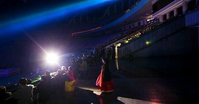 North Korea stages biggest magic show ever