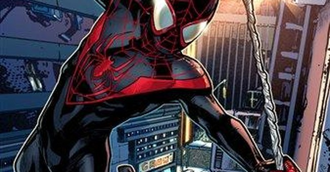 So long, Peter Parker, red-and-blue Spidey suit